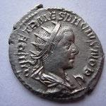 antoninien, Rome 6-7e ém 4e off 251, 3.59 g, Avers: Q HER ETR MES DECIVS NOB C