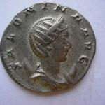 antoninien, Trêves 259 - juillet / août 260, 2.99 g, Avers: SALONINA AUG
