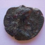 moyen bronze, Troade: ALEXANDRIE 9.25 g, Avers: buste de Gallien à droite
