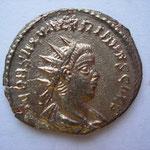 antoninien, Antioche 5e ém printemps 258, 2.76 g, Avers: P COR SAL VALERIANUS CAES