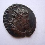 Antoninien, Milan 1ére off 268, 2.63 g, Avers: IMP C POSTU(MUS P F AU)G