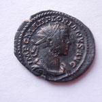 aurélianus, Lyon août 276 3e off, 4.58 g, Avers: IMP C M AN FLORIANVS AVG