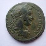 moyen bronze pour Nicopolis, 11.78 g, Avers: buste habillé juvénile à droite