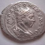 Antoninien, Rome, 4.62 g, Avers : buste drapé cuirassé radié à droite IMP ANTONINVS AVG (Savoca coins 25/06/17 n°558)