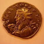 antoninien, 3.99 g, 4e ém 257-258, Avers: GALLIENUS P F AVG  buste cuir armé (haste et bouclier) à gauche, méduse visible