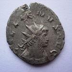 antoninien, 261-262 6e ém 3e off, Avers: GALLIENVS AVG buste cuirassé à dr, 1ére ém pour Gallien seul