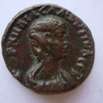 tetradrachme, Alexandrie 267-268, Avers: KORNHLIA SALwNEINA SEB
