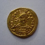 Solidus Constantinople 4.40 g, A/ DN LEO PERPET AUG