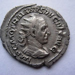 antoninien, Rome, 3-4e ém 1ére off, 250, poids lourd: 5.23 g, Avers: IMP C M Q TRAIANVS DECIVS AVG, TTB