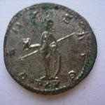Revers: VENVS AVG// PXV 15e puissance tribunicienne de Gallien, SUP rare (R)