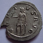 Revers: VIR-T-V S AVG TTB+, Savoca Coins Blue 29/12/2017 n° 1453, sans doublement du G=avant association avec Gallien ?