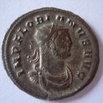 aurélianus, 3.82 g, Cyzique, 3e officine, Avers : IMP FLORIANVS AVG