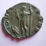 Revers: IOVI CON-SERVA, Jupiter debout à g avec sceptre et foudre en mains, un aigle aux pieds, TTB assez Rare (R)
