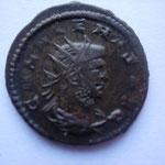 antoninien, 267, 3.40 g, Avers: GALLIENVS AVG buste drapé cuirassé à droite