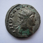 antoninien, Milan, 259, 2e officine, 2.76g, Avers: IMP GALLIENVS P AVG