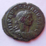 sesterce, Rome janvier-sept 275, 8.49 G? ss lettre d'off, Avers: IMP AURELIANUS AUG