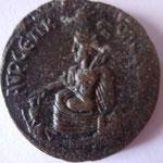 Revers: AVP CЄΠ KOΛ CINΓAPA, TTB rare vente numismatik naumann GmBh juillet 2016