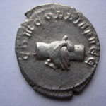 Revers: CONCORDIA AVGG mains jointes, rare (R)
