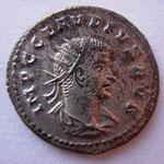 antoninien, Antioche, 1ére ém 5e off fin 268-début 269, 3.72 g, Avers: IMP C CLAUDIUS AUG buste drapé radié à drt,
