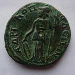 Revers: AΔPIANTI OACITN Athena, TTB+, belle patine verte