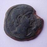 CASTULO, grand bronze, 13.84 g, CELTIBERE