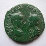 pentassaria MARCIANOPOLIS, 25 mm, 8.80g, frappe 229/235, légat consulaire Firmus Philopappus