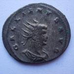 antoninien, 265, 3.70 g, Avers: GALLIENVS AVG portrait drapé à droite