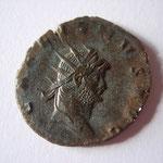 antoninien,265-266, 3.00 g, A: GALLIENVS AVG - Revers: PIE-TAS- AVG : la Piété de 3/4 face gauche, à ses pieds un autel