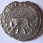 Revers: LEG II ITAL VI P VI F, la Louve et Romulus et Remus, rare