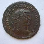 follis, LYON  4e ém 2e off 296, 9.21 g, Avers: CONSTANTIUS NOB CAES
