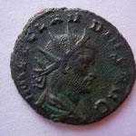 antoninien, Rome 1ére ém sept/nov-268, 3.12 g, Avers: IMP C CLAUDIUS AUG buste drapé cuirassé radié à dr