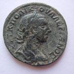 bronze, IONIE, Ephése, 29 mm, 6.98 g, Avers:  ΑΥΤ Κ ΠΟ ΛΙK ΟYΑΛΕΡΙΑΝΟΣ