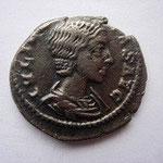 Denier Julia Soemias, mère d'Elagabale, fille de J Maesa, 2.94 g, Avers: IULIA SOEMIAS AUG