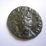 antoninien, Rome 261-262, 2.87 g, Avers: GALLIENVS AVG buste cuir radié à droite