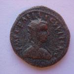 bronze, Pisidie: ANTIOCHE, 9.30 g, Avers: buste radié et drapé à droite