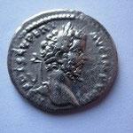 Denier, Antioche ? plus probablement Laodicée, 196-197 ap JC, 2.90 g, Avers: L SEPT SEV PERT AUG IMP VIII