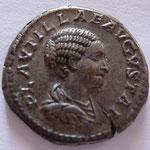 Denier de Plautille, 202, Rome, Avers: PLAVTILLAE AVGVSTAE