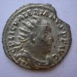 antoninien, Rome 2e off 255-256, 2.58 g, Avers: IMP C P LIC VALERIANUS AUG