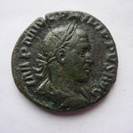 as, 9.48 g, Rome, 5e off, Avers: IMP M IUL PHILIPPUS AUG
