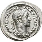 denier, Rome, 2.61 g, Avers : IMP C M AVR SEV ALEXAND AVG
