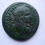 grand bronze (30 mm) Pautalia en Thrace, 17.91 g, Avers: buste cuirassé habillé à droite