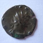 antoninien, 261-262, Rome 2.12 g, 6e off, Avers: GALLIENVS AVG buste cuir radié à droite
