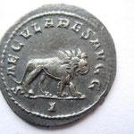 Revers: SAECULARES AUGG / I lion marchant à droite, TTB+ rare (R)