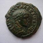 petit bronze de NICEE en Bithynie, 21 mm, 5.4 g, Avers: AVP AΛEAZNΔC
