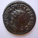 antoninien, Antioche 260/61, 4.17 g, Avers: IMP C FVL QUIETUS P F AUG