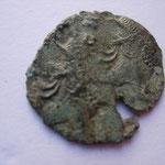 double frappe pour l'atelier de Rome (265 - 267) 9 éme émission