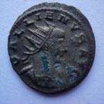 antoninien, 265-268,  3,43 g, Avers: GALLIENVS AVG buste cuirassé à droite
