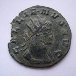antoninien, Rome 3.12g, 267-268, 9° officcine Avers: GALLIENVS AVG buste cuirassé à droite