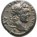 Seleucis and Pieria. Antioch. Caracalla AD 211-217. Semis AE 15mm., 4,06g. A/AVTOK M A ANTωNЄINOC CЄB