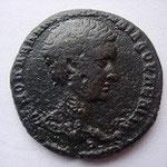 tetrassaria de Nicopolis, 10.02 g, Diaduménien, Avers: K M OΠΠEΛ ANTΩNEINOC